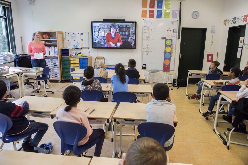 Schoolschrijver is digitaal aanwezig in BSO De Driemaster in Voorburg (oktober 2016)